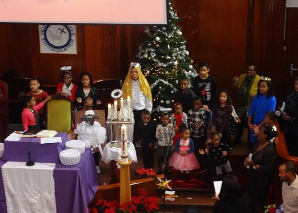 Kerstviering Zondagsschool